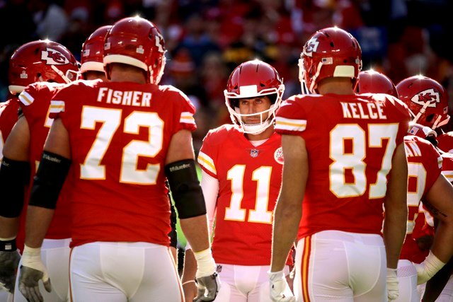 Chiefs quarterback Alex Smith said the team realizes the stakes for this game. (AP)