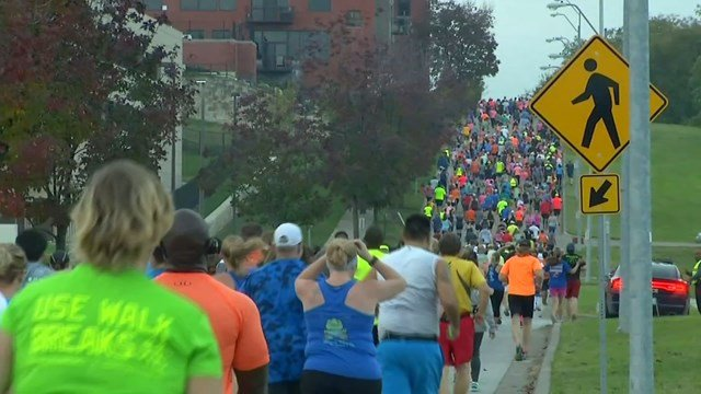 A 10K race has also been added to the annual event. (KCTV5)
