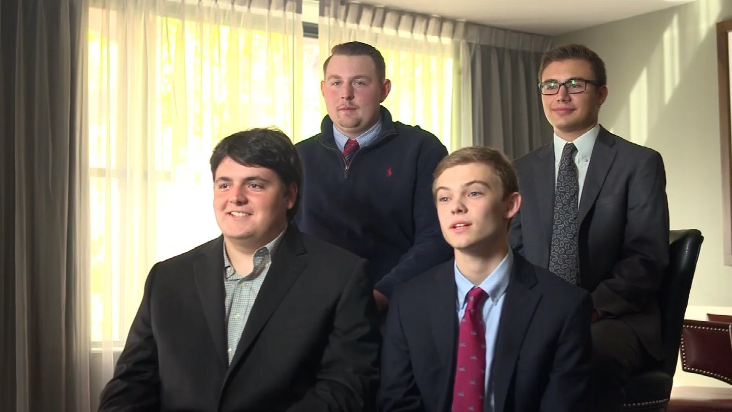 Four teenagers who are running for governor of Kansas got a chance to discuss their policy positions at a forum in front of other high school students. (CBS)