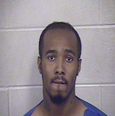 Trayneal Cubie, 25, faces first-degree robbery, armed criminal action and resisting arrest.(Jackson County Jail)