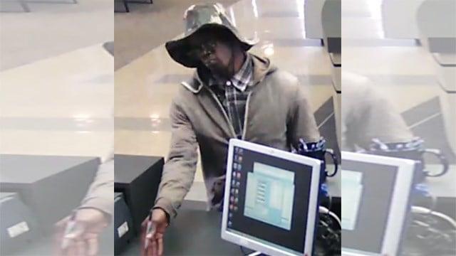fbi man robs arvest bank on us 40 flees on foot kctv5 news. Black Bedroom Furniture Sets. Home Design Ideas