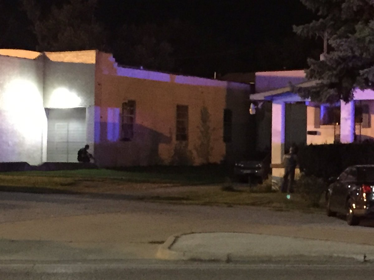 Belton police are searching for a suspect who shot at and ran from an officer. The officer was not hit. (Jessica Reyes/KCTV5)
