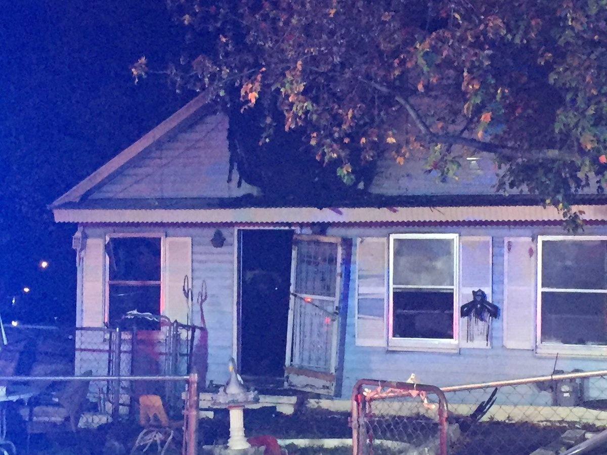 Two people are hurt after a house fire early Tuesday morning.  The fire was reported about 3:30 a.m. near 37th Street and Washington Avenue. (KCTV5)