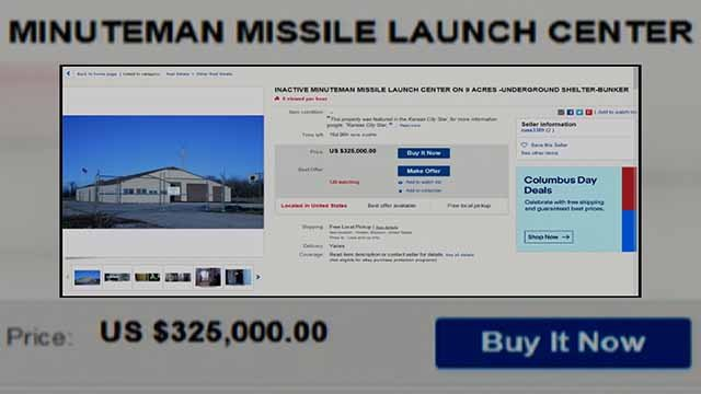 The site of a former missile silo is for sale in Missouri. (KMOV)