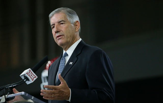 Big 12 Commissioner Bob Bowlsby believes the federal investigation into corruption in college basketball has brought to light a seedy underbelly of the sport that people have known about all along. (AP)