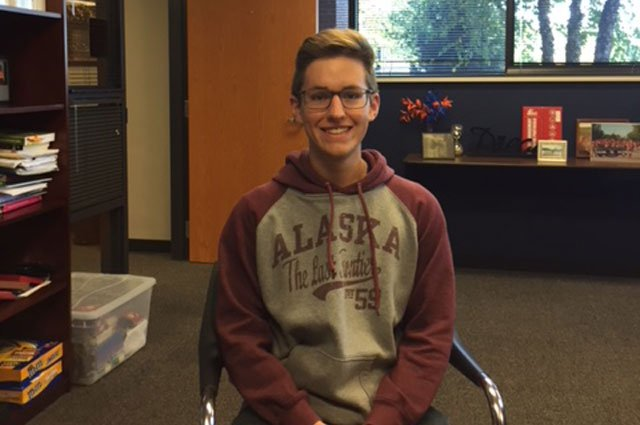 Nathan Hampleman, a junior at Olathe East High School, has earned a perfect score of 36 on the ACT. (Olathe Public Schools)