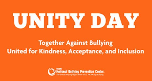 Parker Elementary School students and teachers will be rocking the orange Wednesday as they march throughout the city for Unity Day. (Facebook/Parker Elementary School)