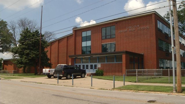 the administration is proposing to reopen Lincoln Junior High School, which has sat closed for the past seven years, for the 2019-2020 school year. (KCTV5)