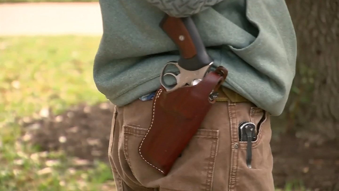 Concealed carry on college campuses across the state of Kansas has been a reality now for about three months. (KCTV5)