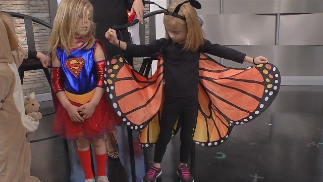 Halloween is just a few days away, and no matter what your child wants to dress up as, picking a perfect costume is a big decision, especially when it comes to safety. (KCTV5)