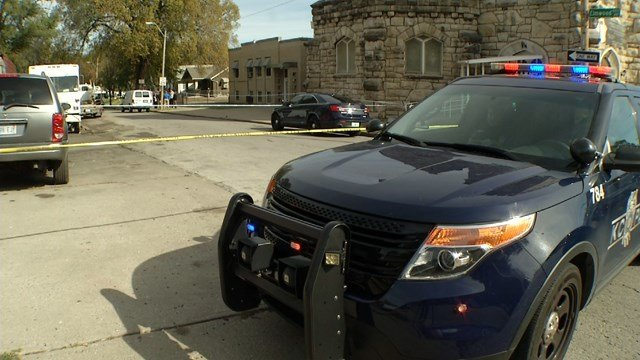 Police are investigating a homicide in Kansas City's Historic Northeast.  It happened at 8 a.m. Wednesdaynear Independence and Elmwood avenues. (KCTV5)