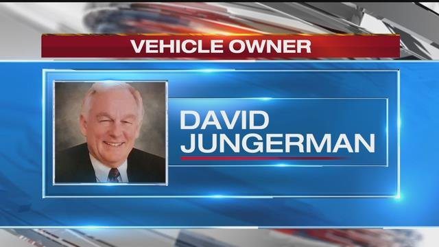 The van witnesses say was speeding away from the murder was registered to David Jungerman.He lives in Raytown andwas a defendant in a recent case the victim tried.(KCTV5)