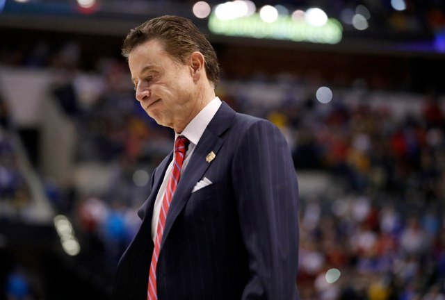 On Oct. 16, Hall of Fame coach Rick Pitino was firedby the University of Louisville, bringing down a national-title contending program. (AP)