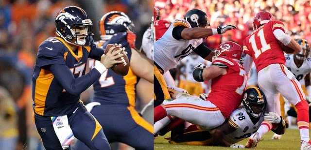 What looked as if it would be a showdown for league supremacy on Monday night at Arrowhead Stadium has turned into a game matching two teams desperate to get back on track. (AP)
