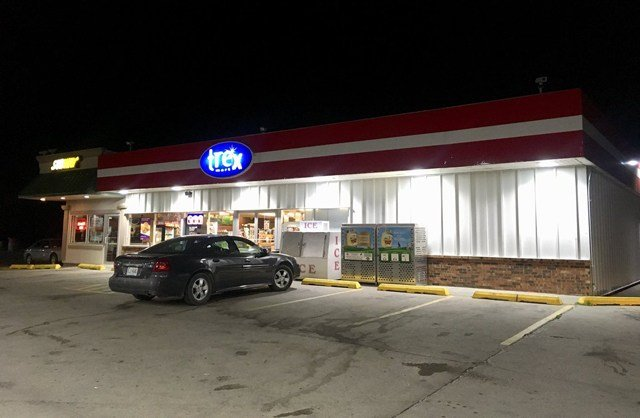 It happened at about 11:30 p.m. at the Trex Mart Gas Station, located at 17605 County Highway Z. (KCTV5)