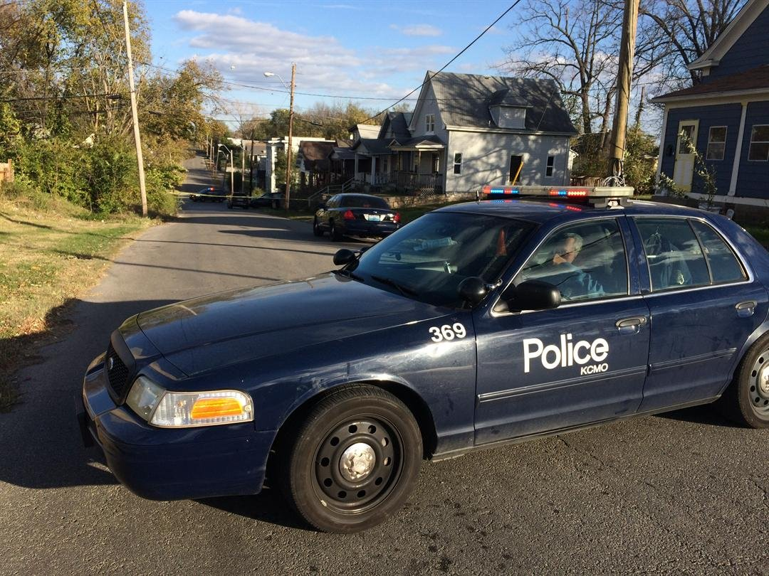 Police are investigating a suspicious death after a shooting Monday afternoon.  Officers responded to a shooting just after 1 p.m. in the 2200 block of 37th Street. (Brett Hacker/KCTV5 News)