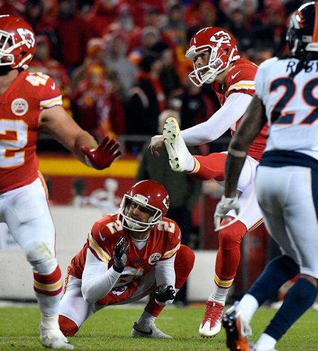 Butker's 5 FGs Instrumental In Chiefs' Win Over Denver