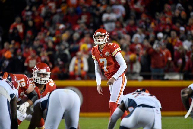 Butker went 5-5 on field goals inMonday night's 29-19 win overthe Denver Broncos. He also chipped in a pair of extra points.(AP)