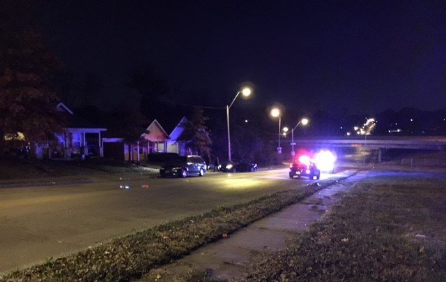 The chase ended about 41 minutes later when the suspect's vehicle hit police stop sticks at Linden Avenue and then hit a pole near Jackson Avenue and 28th Street. (KCTV5)