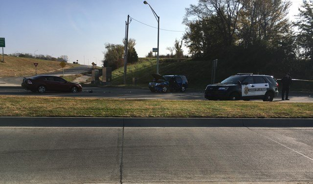 Police are investigating a homicide Friday morning at 78th Street and Interstate 70. (KCTV5)