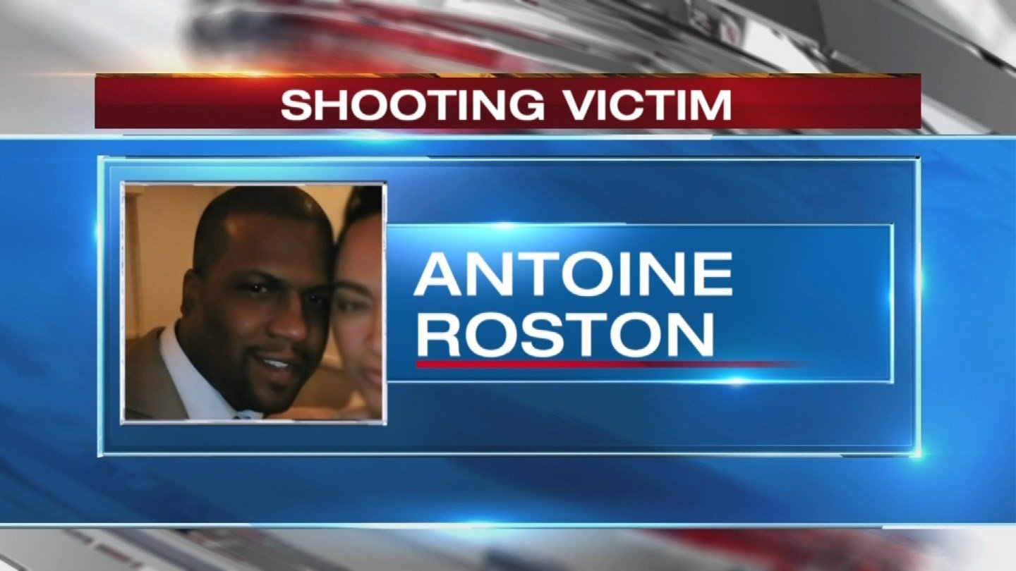 Antoine Roston has three kids and a wife of 19 years who has been by his side at the hospital ever since the shooting early Sunday. (KCTV5)