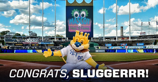 The announcement was made Monday from the home of the Mascot Hall of Fame in Whiting, IN. (Kansas City Royals)