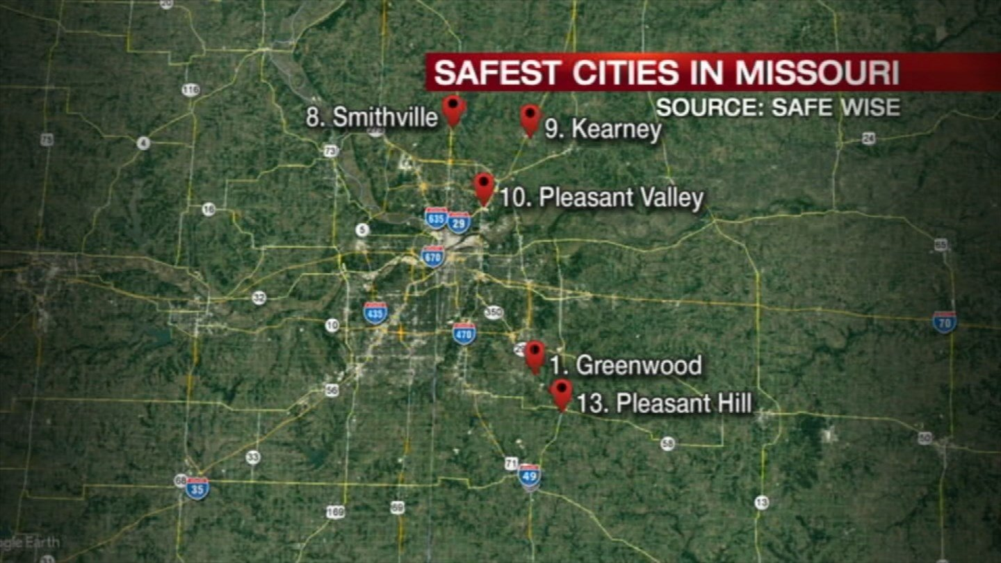The safest city in Missouri is right here in the metro, according to FBI data. (KCTV5)