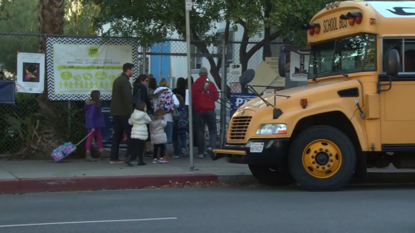 The group Zendrive analyzed cell phone data of almost 4 million drivers cruising near school zones and gave them safety report cards. The grading system goes from A+ to F. (CBS)