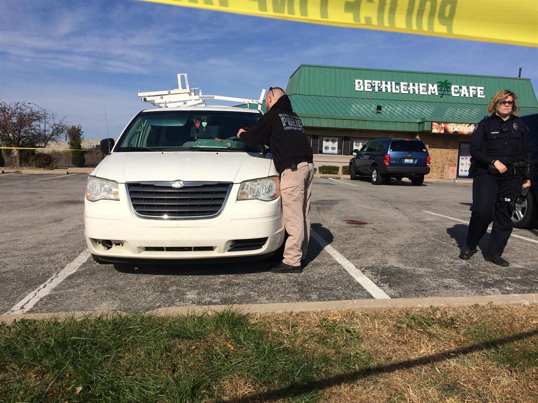 Police are investigating a deadly shooting at Bethlehem Cafe. (Brett Hacker/KCTV5 News)