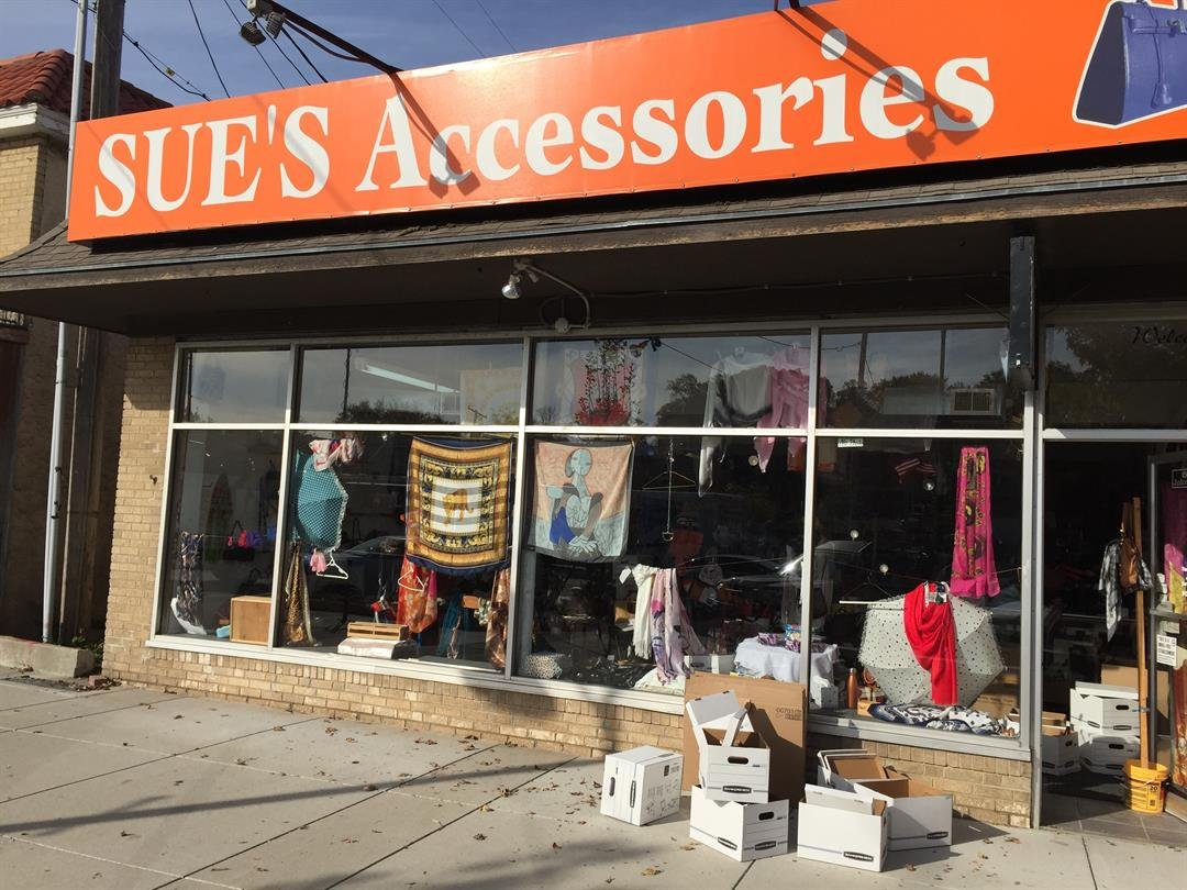 The owner of a Mission businesswas arrested in connection with the possession and sale of counterfeit designer merchandise,the Johnson County District Attorney's Office said. (Edwin Watson/KCTV5 News)