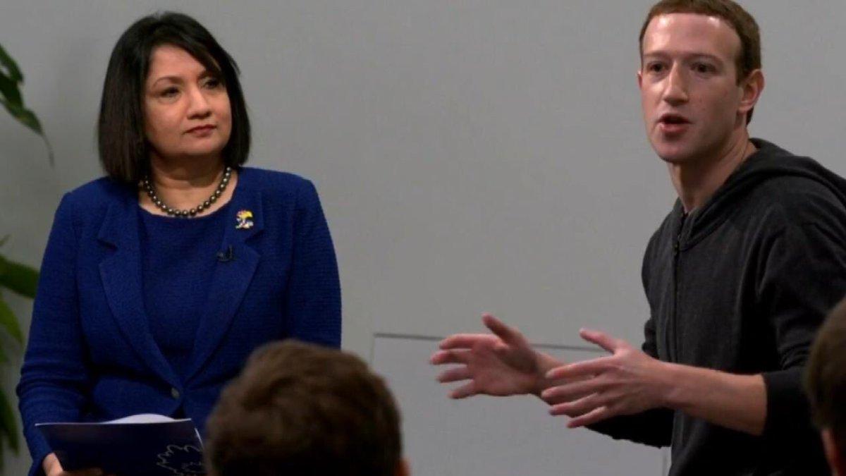 Mark Zuckerberg made a stop at KU on Friday. (Facebook)