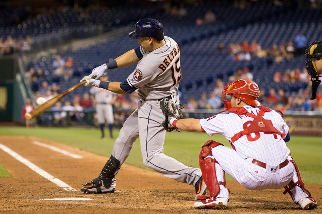 Finishing his career with a second, one-year, stint in Houston, Beltran captured his first World Series title. (AP)