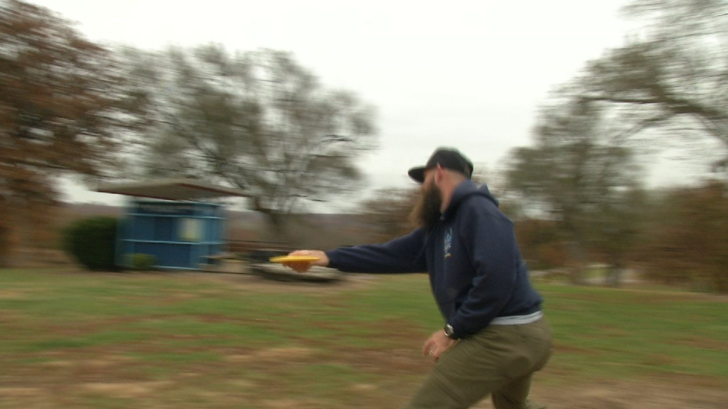 They joke that it's the most popular game you've never heard of, but disc golf is a pretty big deal in Kansas City. (KCTV5)