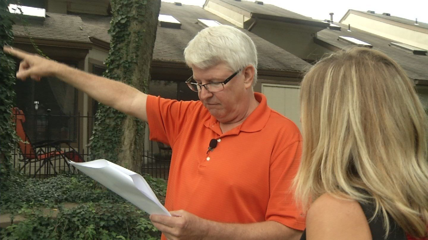 Doug Fielder is on the homeowners' association of Mission Lake in Jackson County where there are 255 townhomes. Some have different floor plans, of course, but the people living in them also pay very different property taxes. (KCTV5)
