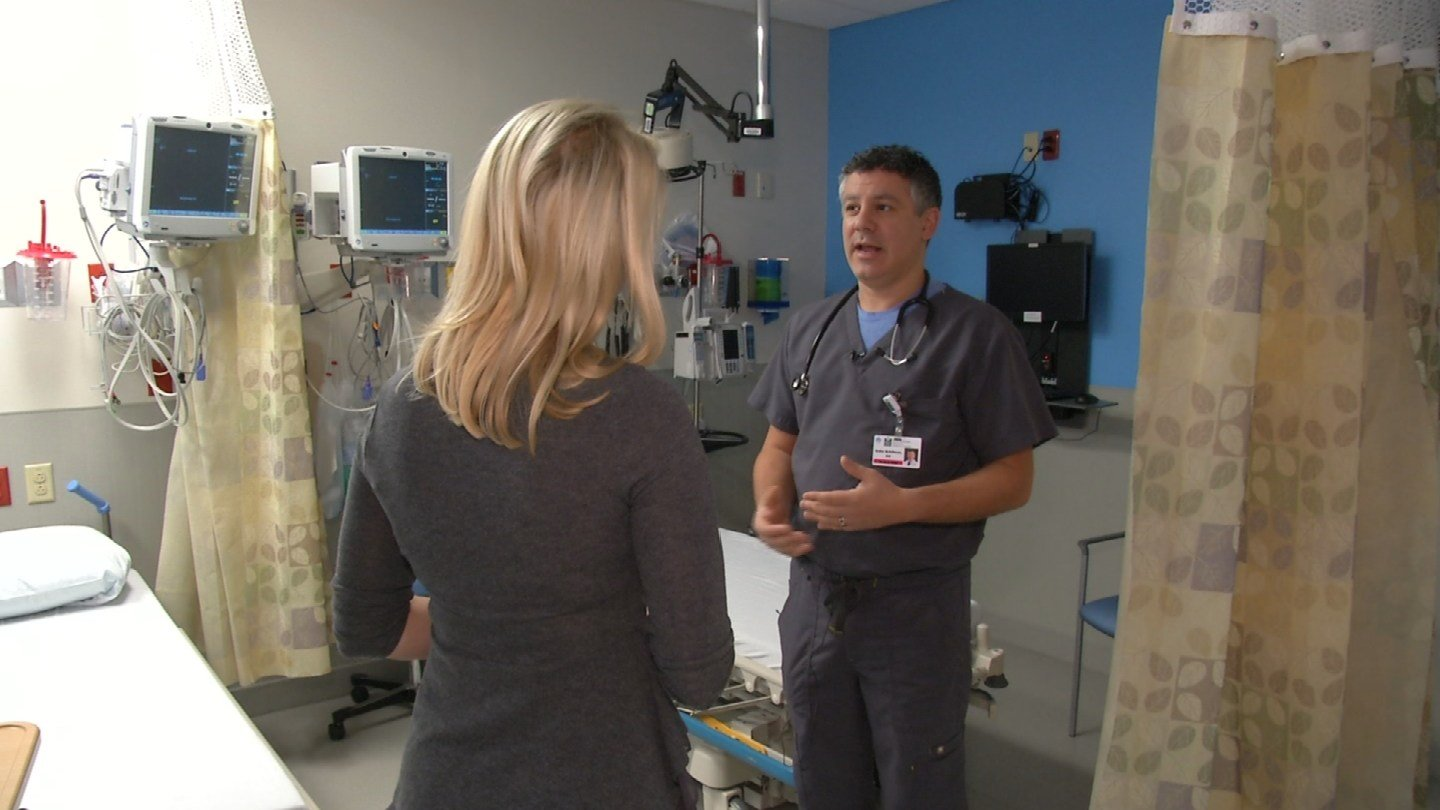 Doctors at Overland Park Regional say flu season is here. They've seen confirmed cases of both influenza A and B. (KCTV5)