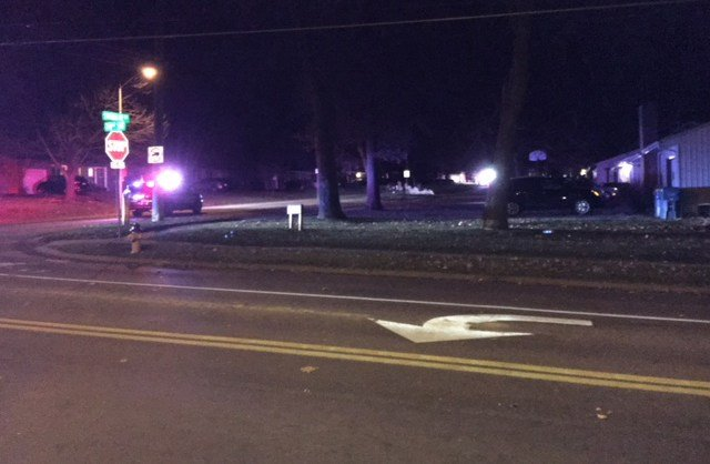 It happened at about 5:10 a.m. as the car hit a pole on 71st Street near Santa Fe Drive. (KCTV5)