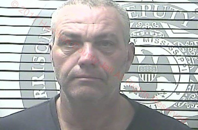 Nathan Hendricks, 46, of Hermann, MO, was arrested Monday in Gulfport, MS, by a combination of federal and local law enforcement. (Gulfport PD)