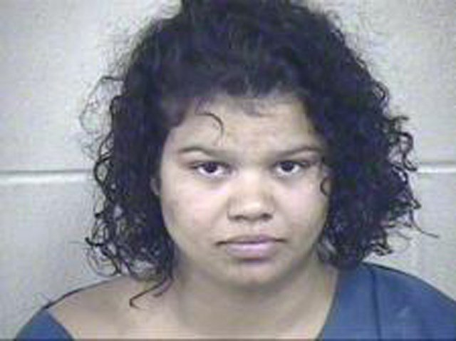 Brionna Colvin, 23, has been charged with second-degree endangering the welfare of a child, a misdemeanor. (Platte County)