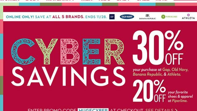 Cyber Monday sales jump 17 percent