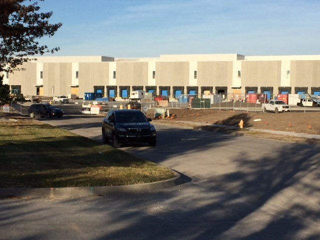 A worker has died following a workplace accident at the Garmin headquarters site at 151st Street.(Kimo Hood/KCTV5)