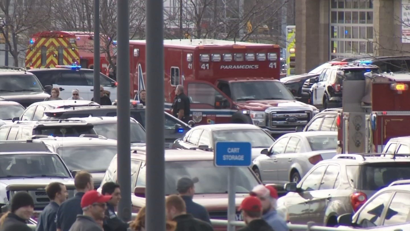 Lenexa police say a man who was shot to death by an off-duty officer at a Costco didn't appear to have specific targets when he walked into the store screaming and waving a gun. (KCTV5)