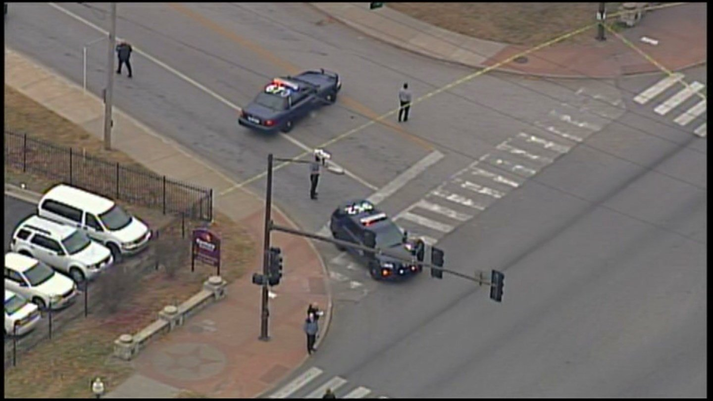 Police are investigating a homicide at Independence and Woodland Avenue. (Chopper5)