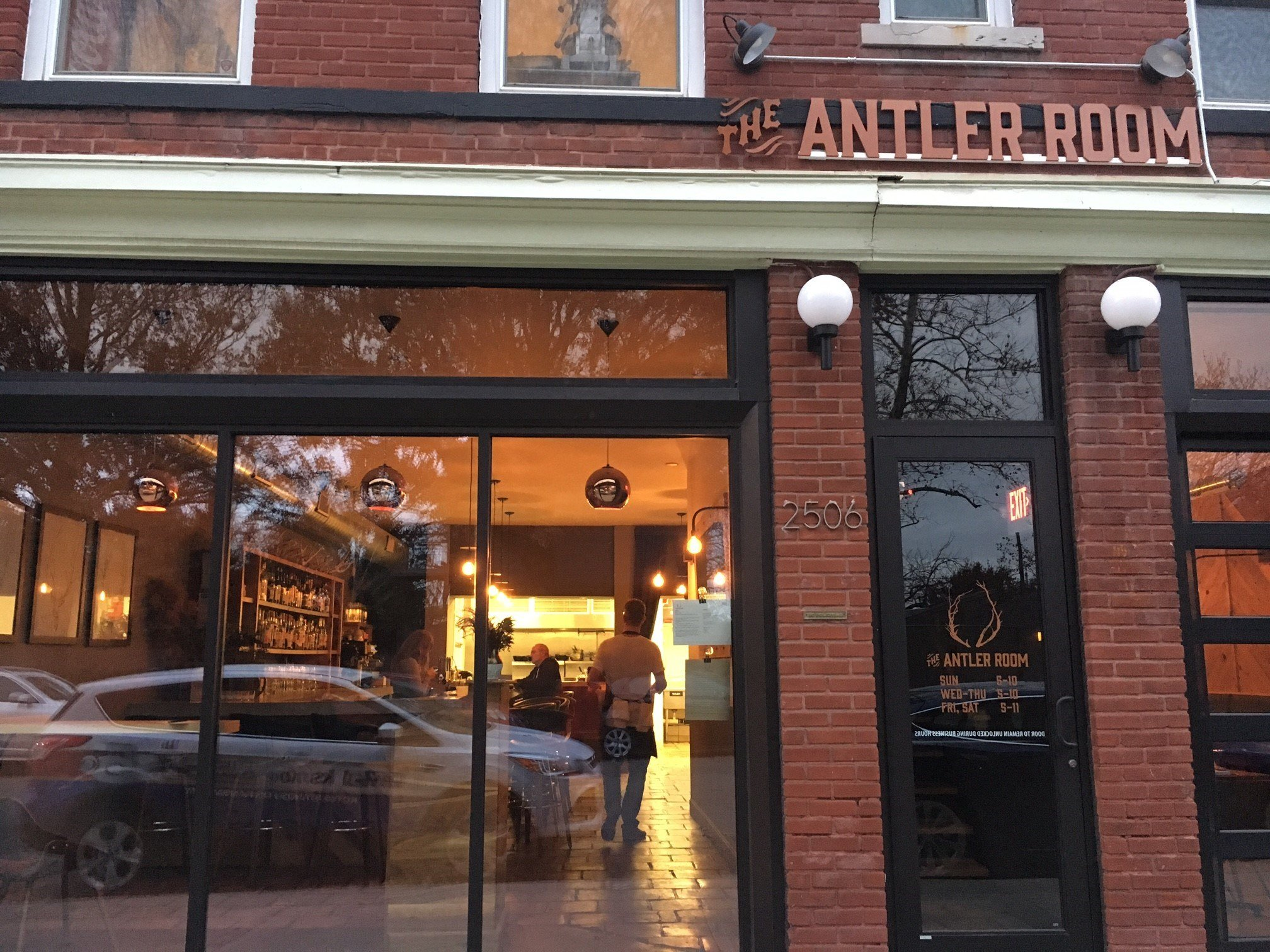 The Antler Room, located at 2506 Holmes St., was broken into about 4 a.m. Monday. (Ashley Arnold/KCTV5 News)
