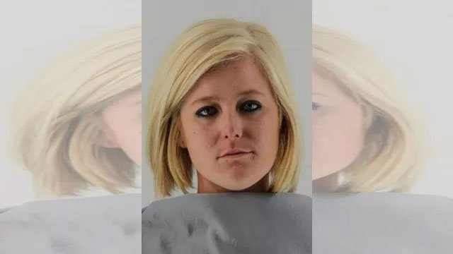 Lindsey Thomasson entered a not guilty plea after she was bound over for trial Tuesday on a charge of first-degree murder. (Johnson County Sheriff's Office)