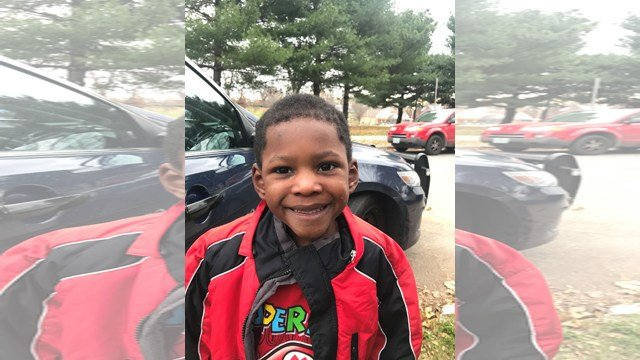 The boy told police his name is Sarkeef and that he is three years old. (KCPD)