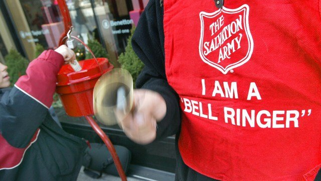 Time is limited for those looking to volunteer. Bell ringers are only out from Thanksgiving to Christmas. (CBS)