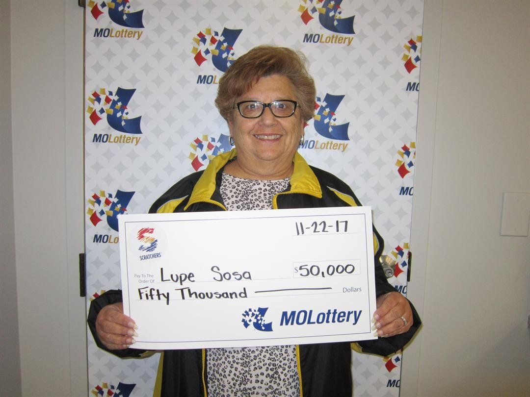 In only a couple of hours, Lupe Sosa went from purchasing a Missouri Lottery Scratchers ticket to claiming a $50,000 top prize. (Missouri Lottery)
