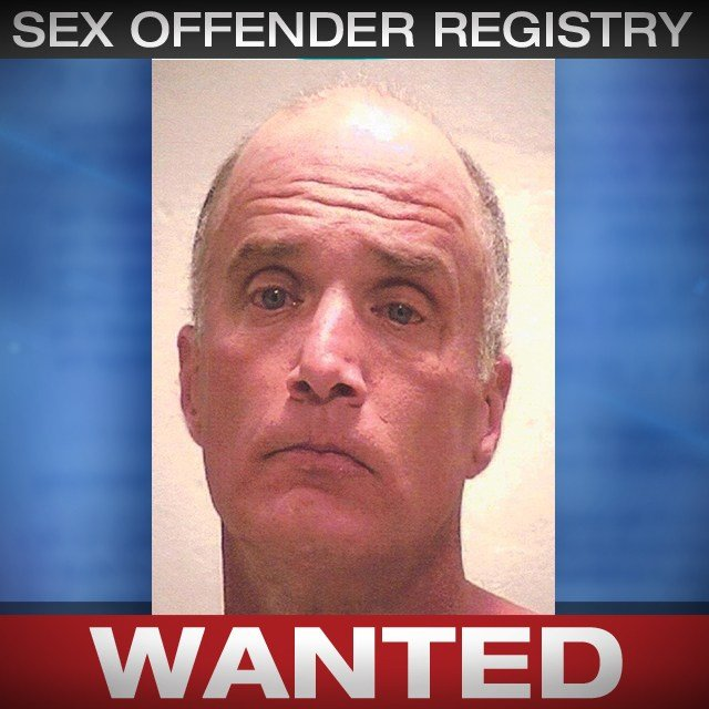 Jeffrey Hukill was wanted on a Clay County warrant for sex offender registration violation. (CrimeStoppers)