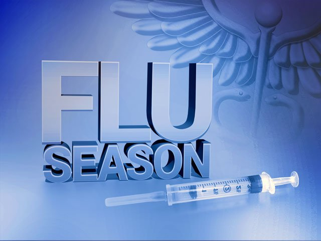 Flu season in full swing in county