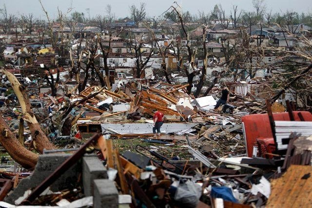 Joplin has been working to rebuild from a massive 2011 tornado that destroyed a large swath of the city and killed 161 residents. (AP)